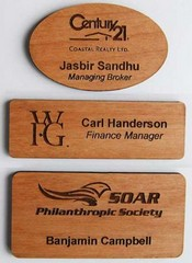 Wooden name tags or badges laser engraved wood badges hard wood wooden name tags or badges laser engraved wood badges hard wood laser engraved badges solutioingenieria Images