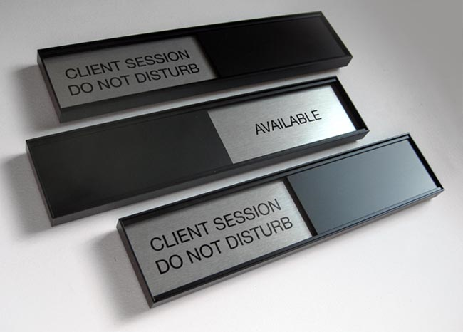 conference room signs sliding office door signs 340 2x10 sliding office door signs - Office Door Signs