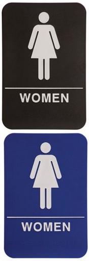 WOMEN Stock ADA Sign X ADA Stock Signs Ada Sign Requirements - Custom bathroom signs