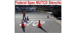 Federal Specification (MUTCD) Stencils