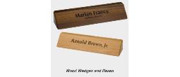 Elegant Wood Desk Holders