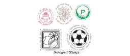 Monogram Designer Self-Inking Stamps