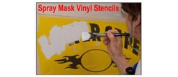 Spray Mask Vinyl Stencils