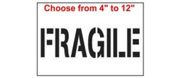 Fragile Stencils
