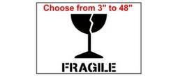 Fragile Freight Stencils