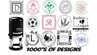 Designer Stamps, Customize your Design