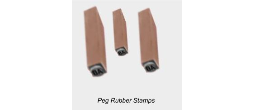 Wooden Peg Hand Stamps