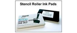 Stencil Roller Foam Ink Pads