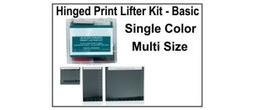 Hinged Print Lifter Kit - Basic - Single Color, Multi Size