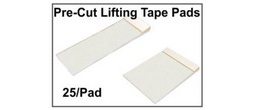 Latent Print Lifting Tape Pads - Precut