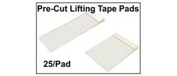 Latent Print Lifting Tape Pads - Precut