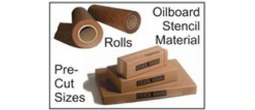 Pre-Cut Oil Board Sheets and Rolls