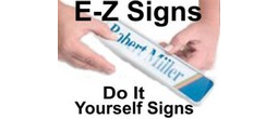 E-Z Sign Kits - Do It Yourself