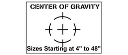 Center of Gravity Stencils