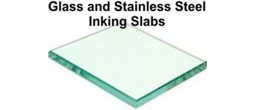 Glass and Stainless Steel Epoxy Paste Inking Plate