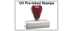 UV Pre-Inked Hand Stamps