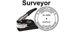 Land Surveyor State Seals, EMBOSSERS