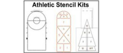 Athletic School Playground Stencils