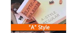 RIBtype REGULAR (A) Typestyle