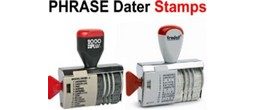 Phrase Date Stamps