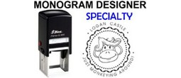 Specialty Monogram Stamps