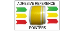 Adhesive Reference Pointers