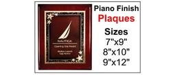 Premier Piano Plaques