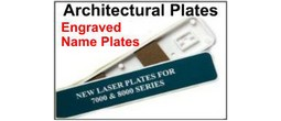 Architectural Engraveble Plates