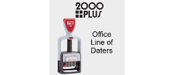 2000Plus Office Line Self-Inking Daters