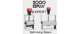 2000Plus Expert Line Self-Inking Daters
