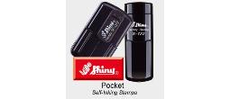 Shiny Self-Inking Pocket Stamps