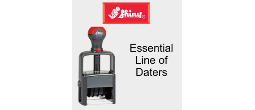 Shiny Essential Self-Inking Daters