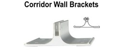 Corridor Wall Sign Brackets