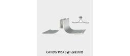 Corridor Wall Sign Brackets
