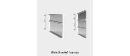 Multiple Wall Bracket Sign Frames