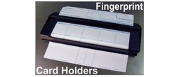 Fingerprint Print Card Holders