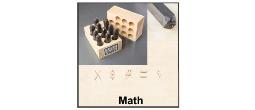 Math Steel Stamp Sets