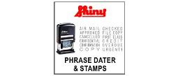 Shiny Printer Phrase Daters