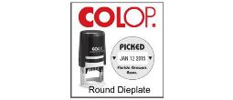 2000 Plus Round Printer