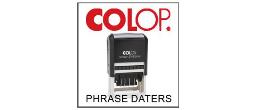 2000 Plus Phrase Dater Printer