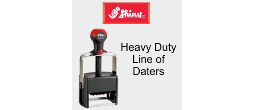 Shiny Heavy Duty Self-Inking Daters