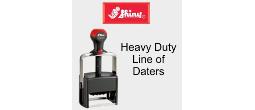 Shiny Heavy Duty Self-Inking Daters