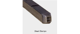 Steel Stamps, Steel Type Sets and Numbering Heads