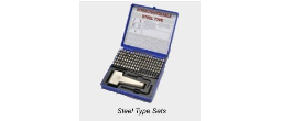 Interchangeable Steel Type Sets