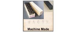 Machine Made Steel Stamp Sets