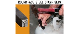 Round Face Steel Stamp Sets