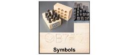 Symbol Steel Stamps