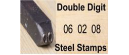 Double Digits Steel Stamps