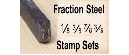 Fraction Steel Stamps