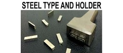 Steel Type Sets with Holders